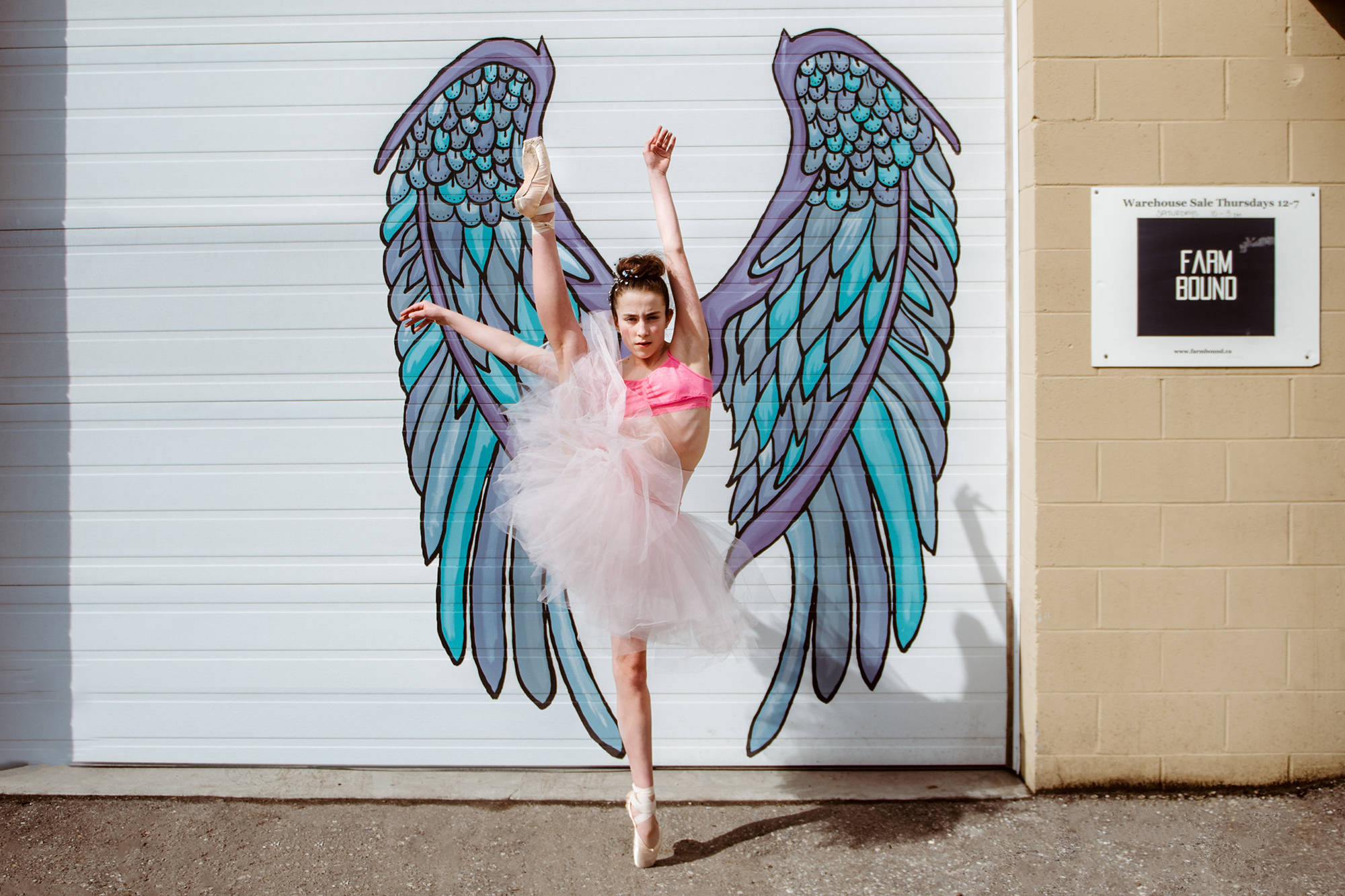 Tiernen O'Keefe has been dancing since she was three years old. (Carousel Studios)